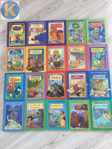 Autres 65 Livres Disney France Loisirs Vaud Kirikoo Ch